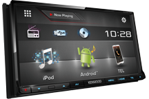 DDX6016BTR - 2016.   7 wVGA, CD/DVD/USB, 3 п.лин.вых. 4В, DTA, Bluetooth, поканальное упр-е, USB 1,5A