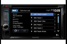 DDX4016DAB - Sintomonitor da 6,2 WVGA con USB e DVD receiver , Bluetooth integrato e Tuner DAB