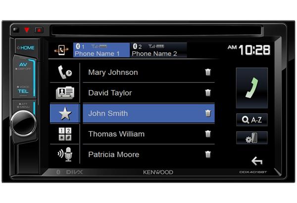 DDX4016BT | In-car Multimedia | Bluetooth | Music Streaming
