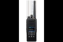 NX-5200E2 - VHF NEXEDGE/P25 Digital/Analog Funktionstastatur Handsprechfunkgerät mit GPS (EU Ausführung)