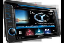 DNX516DABS - Récepteur WVGA de 7 avec système de navigation et radio DAB intégrés pour VW, Skoda & Seat