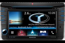 DNX516DABS - ALL-IN-ONE-Navigationssystem mit 17,7 cm Wide VGA-Monitor und DAB+ Tuner für VW, Skoda und Seat