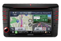 DNX516DABS - 7.0 WVGA, Navigation System with built-in DAB tuner for VW, Skoda & Seat