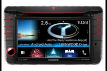 DNX516DABS - 7.0 WVGA navigatiesysteem met ingebouwde DAB+ tuner voor Volkswagen, Skoda & Seat