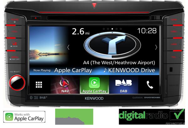 Skoda DNX516DABS Apple CarPlay Android Auto Garmin
