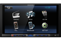 DMX100BT - 17,3 cm WVGA Digital Media Receiver mit Bluetoothmodul