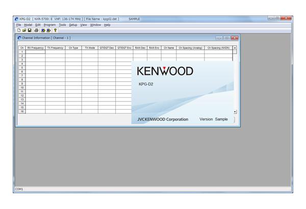 Software • KPG-D2E Features • Kenwood Comms