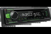 KDC-110UG - USB / CD-Receiver with Green Key Illumination