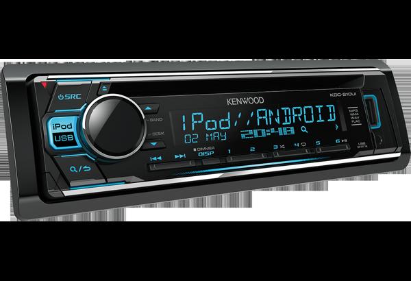 KDC-210UI   Car Radio   FLAC   iPod-iPhone • KENWOOD UK