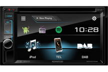"DDX4017DAB - 6.2"" WVGA DVD Receiver with Built-in DAB Tuner / Bluetooth"
