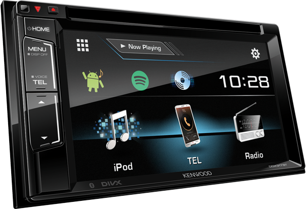 DDX317BT Bluetooth multimedia system with Spotify direct