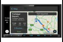 DMX7017DABS - Monitor Mechaless da 7,0 con Bluetooth, radio DAB e Smartphone Control