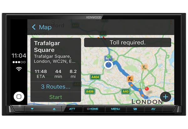 DMX7017DABS Apple CarPlay Digital Media System • KENWOOD UK