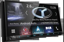 """DNX8170DABS - 7,0"""" AV přijímač s navigací, Bluetooth, DAB rádiem a pokročilým smartphone připojením"""