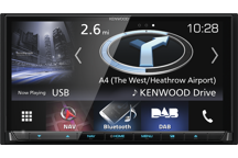 "DNX8170DABS - 7.0"" Navigation/AV-Receiver with Bluetooth, DAB Radio & Smartphone Control"