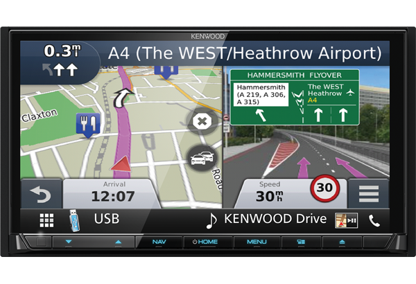 DNX8170DABS Spotify, Apple CarPlay and Android Auto • KENWOOD UK