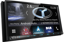 "DNX7170DABS - 7.0"" Navigation/AV-Receiver with Bluetooth, DAB Radio & Smartphone Control"