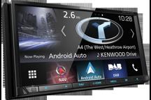 """DNX7170DABS - 7,0"""" AV přijímač s navigací, Bluetooth, DAB rádiem a pokročilým smartphone připojením"""