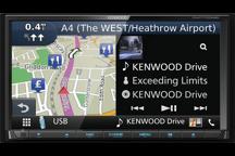 """DNX7170DABS - 7.0"""" Navegação/Recetor-AV com Bluetooth, Rádio DAB e Controlo Smartphone"""