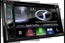 """DNX5170DABS - Système de navigation 6.2"""" WVGA avec Bluetooth et radio DAB intégrés"""