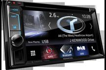 """DNX5170DABS - 6,2"""" AV přijímač s navigací, Bluetooth a DAB rádiem"""