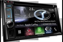 DNX5170BTS - 6,2 AV přijímač s navigací, Bluetooth a pokročilým smartphone připojením