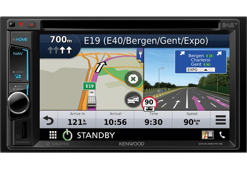 Garmin Map Update >> Truck Navigation • DNX451RVS Features • KENWOOD UK