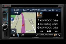 DNX451RVS - Sistema di navigazione Truck con monitor da 6,2, Smartphone Control, Bluetooth e DAB + integrati