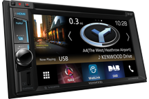 DNX451RVS - 6.2 Navigatie Systeem voor vrachtauto's , met smartphone bediening en ingebouwde Bluetooth en DAB+ radio