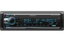 KDC-X7100DAB - Digitalautoradio mit Bluetooth, USB-Port und CD