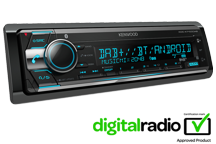 KDC-X7100DAB - Autoradio DAB+ / Bluetooth / USB & CD