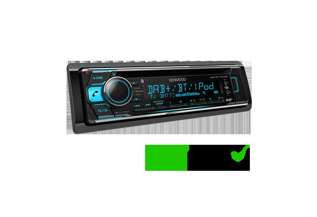 dab digital car radio kdc bt710dab features kenwood uk. Black Bedroom Furniture Sets. Home Design Ideas