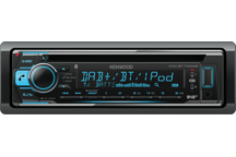 KDC-BT710DAB - DAB Tuner / Bluetooth / USB / CD Recetor