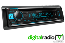 KDC-BT710DAB - Autoradio DAB / Bluetooth / USB & CD