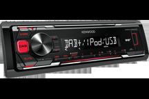 KMM-DAB403 - Autoradio numérique (sans CD) avec réception DAB intégrée