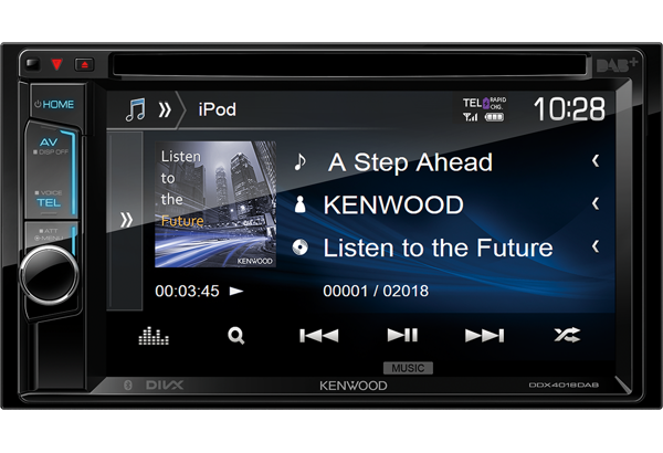 Kenwood Multimedia Systems • DDX4018DAB Features • KENWOOD UK