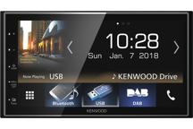 "DMX7018DABS - 6.8"" Digital Media AV Receiver with Smartphone control, Bluetooth & DAB+ Radio."