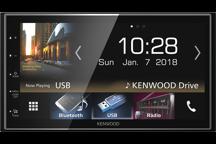 "DMX7018BTS - 6.8"" Digital Media AV Receiver with Smartphone control & Bluetooth."