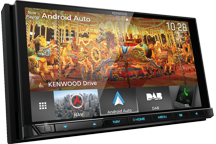 "DNX9180DABS - 6.8"" High Definition screen AV Navigation System with Smartphone control, Bluetooth & DAB+ Radio."