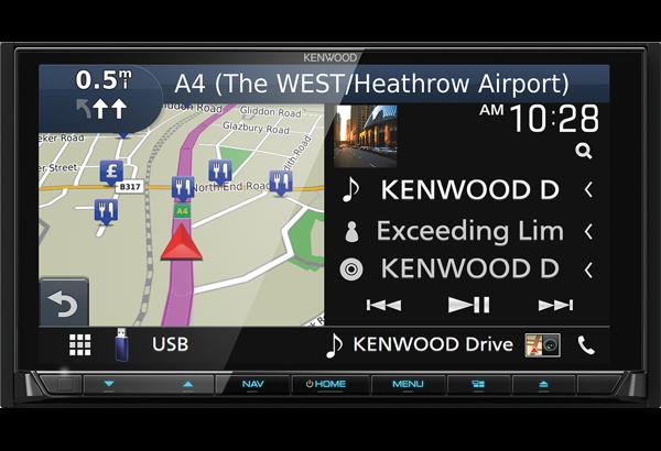 Kenwood DNX9180DABS DNX-9180DABS DNX 9180DABS Microphone Lead Plug Radio