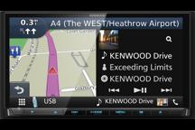 DNX8180DABS - Sistema di navigazione AV con schermo da 7 e Smartphone control , Bluetooth e radio DAB+ integrati
