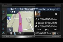 DNX5180DABS - Sistema di navigazione AV con schermo da 6,8 , smartphone control , Bluetooth e radio DAB + integrati