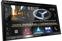 "DNX5180DABS - 6.8"" AV Navigation System with Smartphone control, Bluetooth & DAB+ Radio."
