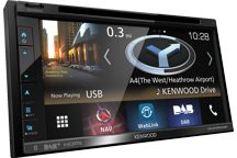 "DNX5180DABS - 6.8"" AV Navigation System with Smartphone control, Bluetooth & DAB+ Radio."