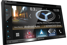 "DNX5180BTS - 6.8"" AV Navigation System with Smartphone control & Bluetooth."