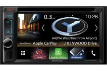 "DNX4180BTS - 6.2"" AV Navigation System with Smartphone control & Bluetooth."
