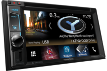"DNX4180BTS - 6.2"" AV Navigation System with Smartphone control & Bluetooth."