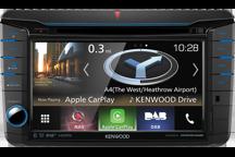 DNX518VDABS - ALL-IN-ONE-Navigationssystem mit 17,7 cm Wide VGA-Monitor und DAB+ Tuner für VW, Skoda und Seat