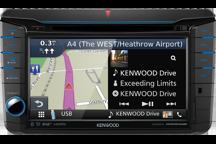 "DNX518VDABS - VW-shaped 7.0"" AV Navigation System with Smartphone control, Bluetooth & DAB+ Radio."