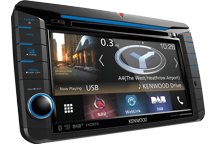 "DNX518VDABS - VW-shaped 7.0"" AV Navigation System with Smartphone control, Bluetooth & DAB+ Radio."